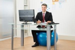 gezonde werkplek kantoor bureau